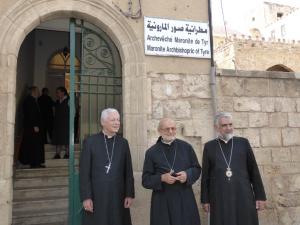 Mgr Aumonier Liban mai 2016