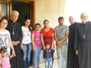 réfugiés irakiens Klaya, soutenus par MSL